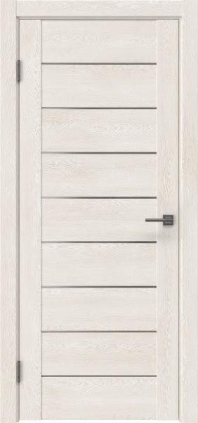 Межкомнатная дверь GM002 (экошпон «белый дуб» / матовое стекло)