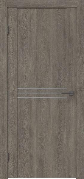 Межкомнатная дверь GM013 (экошпон «серый дуб» / глухая)