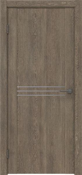 Межкомнатная дверь GM013 (экошпон «дуб антик» / глухая)