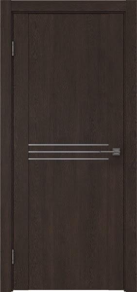 Межкомнатная дверь GM013 (экошпон «дуб шоколад» / глухая)