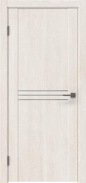 Межкомнатная дверь GM013 (экошпон «белый дуб» / глухая)