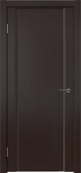 Межкомнатная дверь GM015 (шпон венге, глухая)