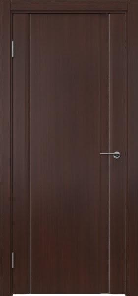 Межкомнатная дверь GM015 (шпон итальянский орех / глухая)