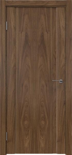 Межкомнатная дверь GM015 (шпон американский орех / глухая)