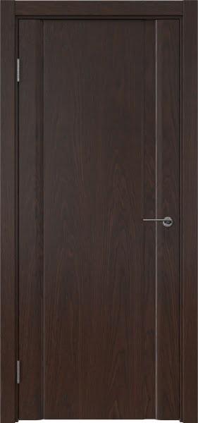 Межкомнатная дверь GM015 (шпон дуб коньяк, глухая)