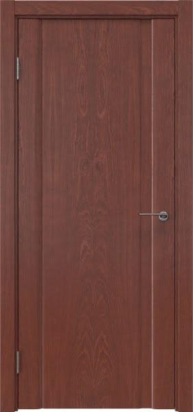 Межкомнатная дверь GM015 (шпон красное дерево, глухая)