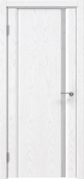 Межкомнатная дверь GM015 (шпон ясень белый)
