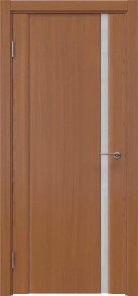 Межкомнатная дверь GM015 (шпон анегри / триплекс белый)