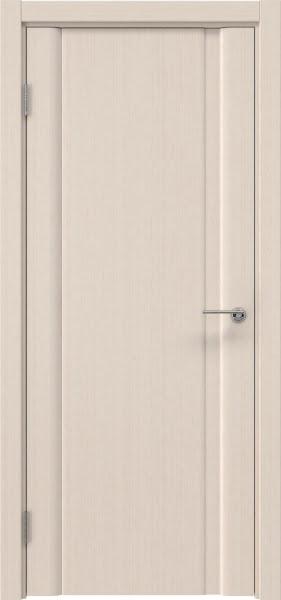 Межкомнатная дверь GM015 (шпон беленый дуб, глухая)