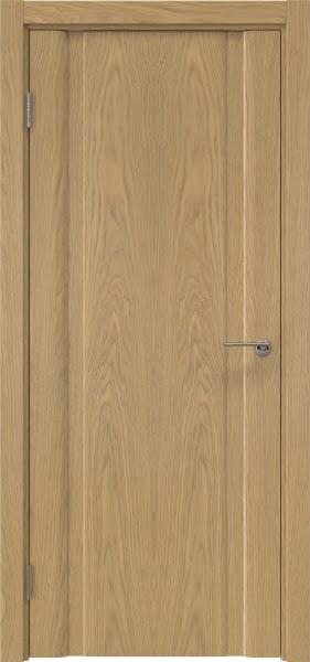 Межкомнатная дверь GM016 (натуральный шпон дуба, глухая)