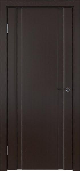Межкомнатная дверь GM016 (шпон венге, глухая)