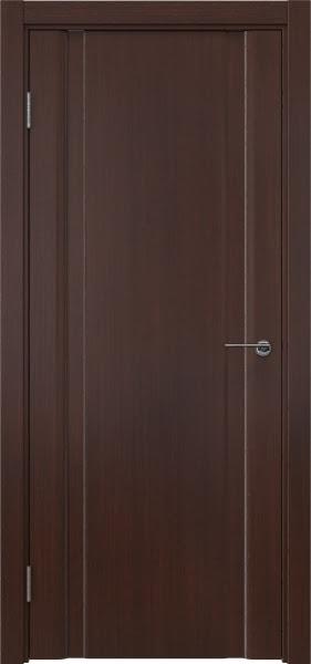 Межкомнатная дверь GM016 (шпон итальянский орех / глухая)