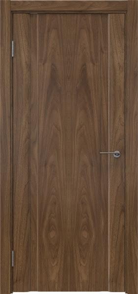 Межкомнатная дверь GM016 (шпон американский орех / глухая)