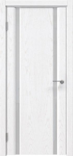 Межкомнатная дверь GM016 (шпон ясень белый)