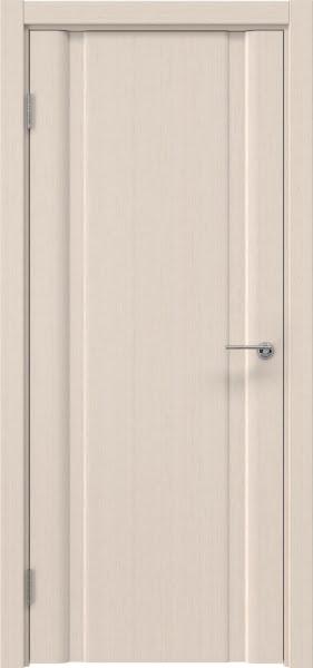 Межкомнатная дверь GM016 (шпон беленый дуб, глухая)