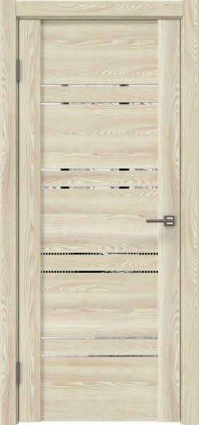 Межкомнатная дверь GM018 (экошпон «клен экрю» / зеркало)