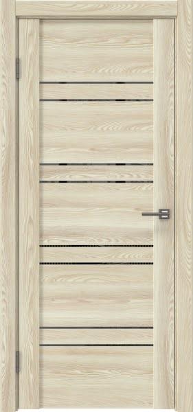 Межкомнатная дверь GM018 (экошпон «клен экрю» / зеркало тонированное)