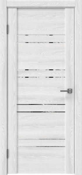 Межкомнатная дверь GM018 (экошпон «ясень айс» / зеркало)