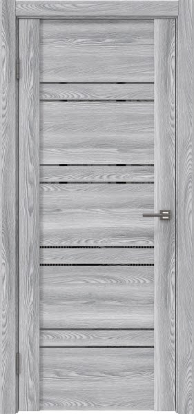 Межкомнатная дверь GM018 (экошпон «ясень грей» / зеркало тонированное)