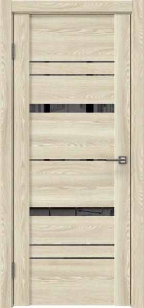 Межкомнатная дверь GM019 (экошпон «клен экрю» / зеркало тонированное)