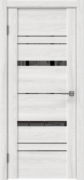 Межкомнатная дверь GM019 (экошпон «ясень айс» / зеркало тонированное)