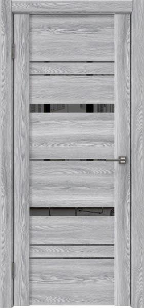 Межкомнатная дверь GM019 (экошпон «ясень грей» / зеркало тонированное)