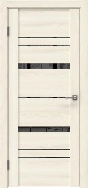 Межкомнатная дверь GM019 (экошпон «ясень крем» / зеркало тонированное)
