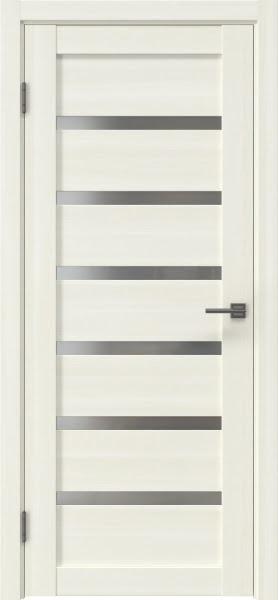 Межкомнатная дверь RM002 (экошпон «сандал» / матовое стекло)