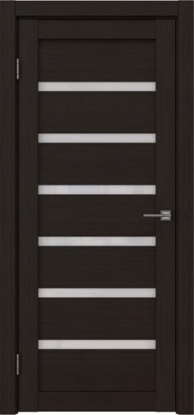 Межкомнатная дверь RM002 (экошпон «венге FL», лакобель белый)