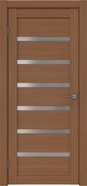 Межкомнатная дверь RM002 (экошпон «орех FL», матовое стекло)