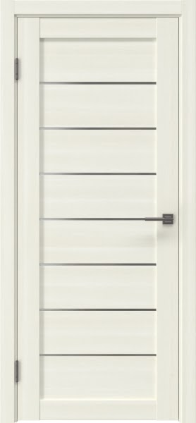 Межкомнатная дверь RM003 (экошпон «сандал» / матовое стекло)