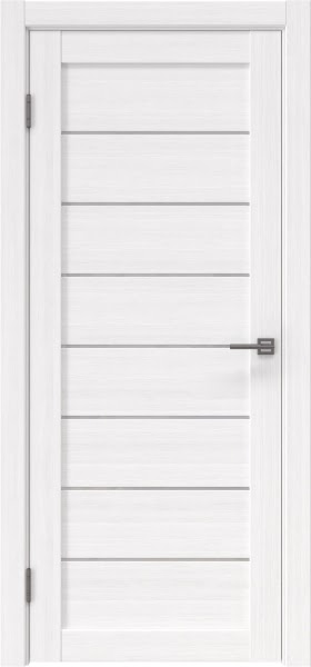 Межкомнатная дверь RM003 (экошпон «белый FL», лакобель белый)