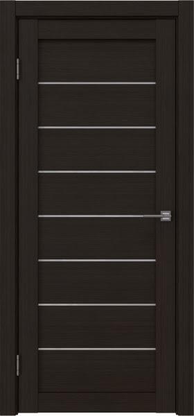 Межкомнатная дверь RM003 (экошпон «венге FL», лакобель белый)