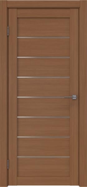 Межкомнатная дверь RM003 (экошпон «орех FL», матовое стекло)