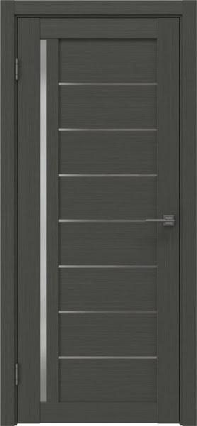 Межкомнатная дверь RM004 (экошпон «грей» / матовое стекло)