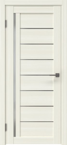 Межкомнатная дверь RM004 (экошпон «сандал» / матовое стекло)