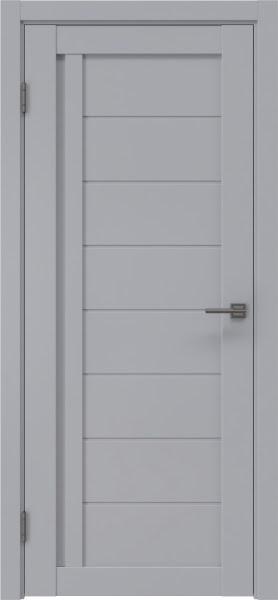 Межкомнатная дверь RM004 (экошпон серый / глухая)