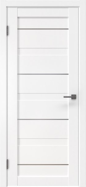 Межкомнатная дверь RM005 (экошпон белый / глухая)