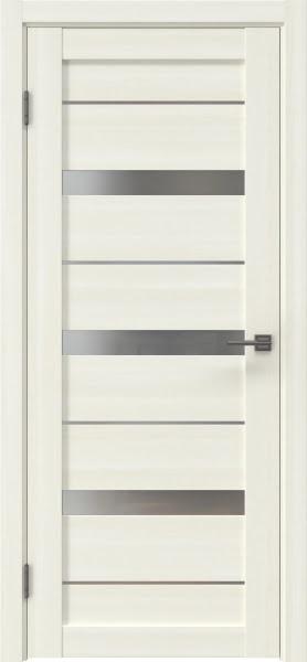 Межкомнатная дверь RM005 (экошпон «сандал» / матовое стекло)
