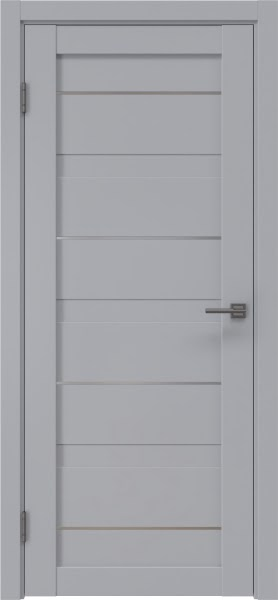Межкомнатная дверь RM005 (экошпон серый / глухая)