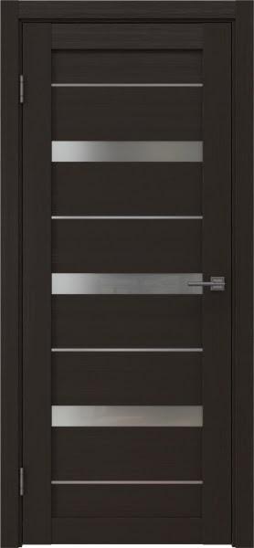 Межкомнатная дверь RM005 (экошпон «венге» / матовое стекло)
