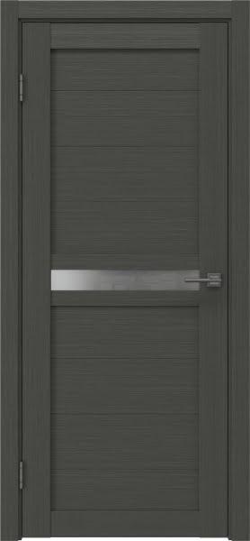 Межкомнатная дверь RM006 (экошпон «грей» / матовое стекло)