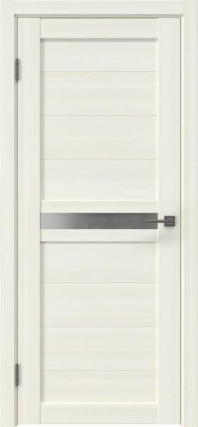 Межкомнатная дверь RM006 (экошпон «сандал» / матовое стекло)