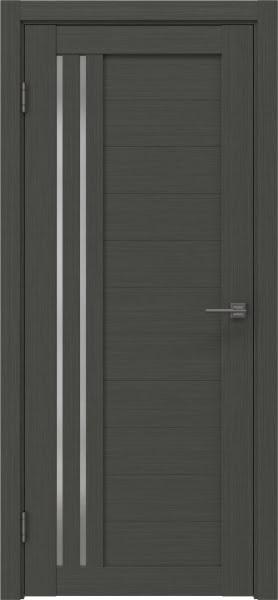 Межкомнатная дверь RM007 (экошпон «грей» / матовое стекло)