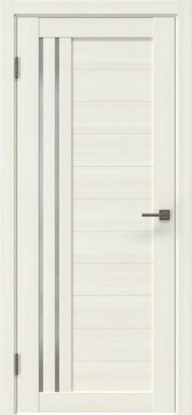 Межкомнатная дверь RM007 (экошпон «сандал» / матовое стекло)