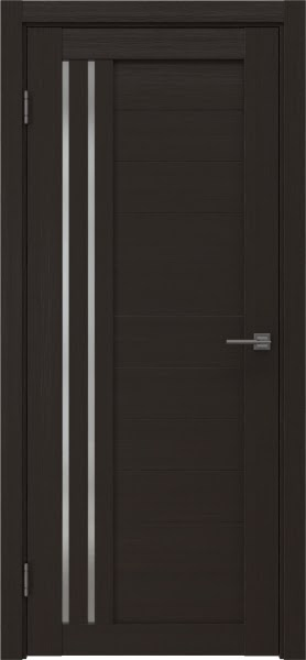 Межкомнатная дверь RM007 (экошпон «венге» / матовое стекло)
