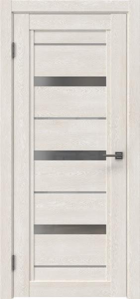 Межкомнатная дверь RM011 (экошпон «белый дуб» / матовое стекло)