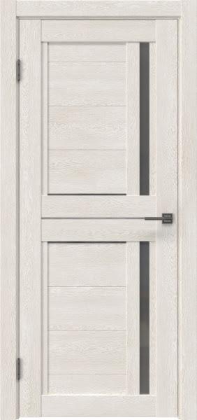 Межкомнатная дверь RM012 (экошпон «белый дуб» / матовое стекло)