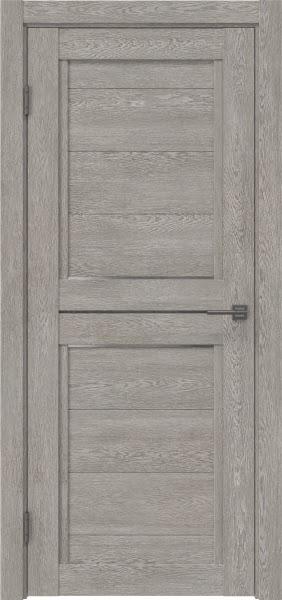 Межкомнатная дверь RM013 (экошпон «дымчатый дуб» / матовое стекло)
