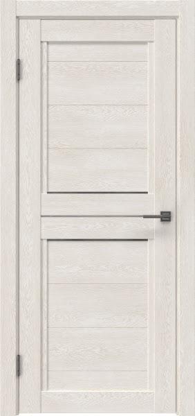 Межкомнатная дверь RM013 (экошпон «белый дуб» / матовое стекло)